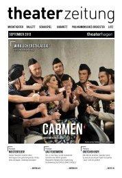 Theaterzeitung September 2013 - Theater Hagen