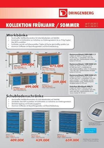 KoLLeKtion Frühjahr / Sommer - GBS NewTool GmbH