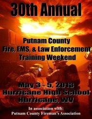 Download the brochure. - West Virginia State Firemen's Association