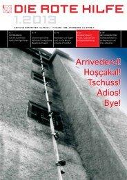 RHZ 2013/1 - Rote Hilfe e.V.