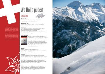 pdf download - Skitouren