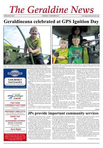 to download - The Geraldine News