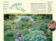 SLOPE SLIPPERY - Karen Bussolini Garden Arts
