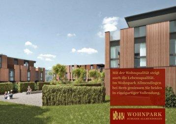Verkaufsdokumentation (PDF) - Wohnpark Schloss Allmendingen