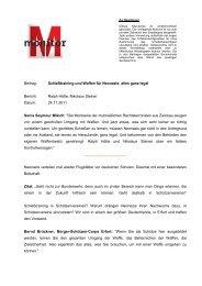 Beitrag: Schießtraining und Waffen für Neonazis: alles ... - WDR.de