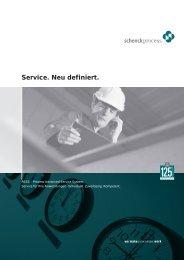 Service. Neu definiert. - Schenck Process GmbH