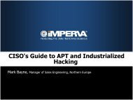 Defining Advanced Persistent Threats (APT)