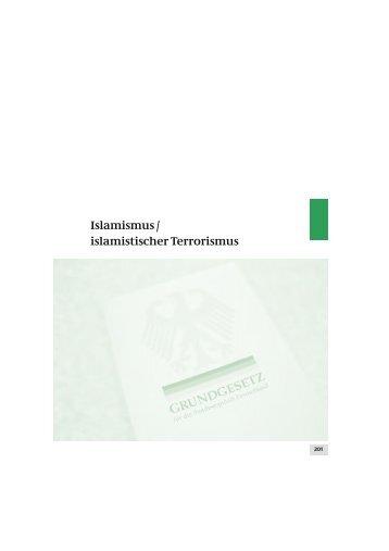 Bericht des Verfassungsschutzes 2010
