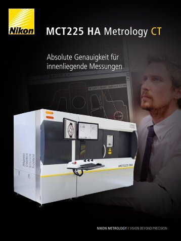 MCT225 HA Metrology CT - Nikon Metrology