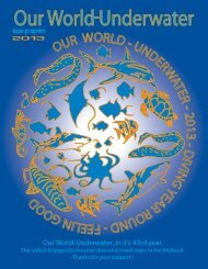 dive show program book 2011 - Our World Underwater