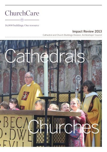 Impact Review 2013 - The Church of England