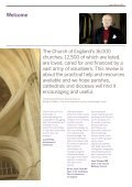 Impact Review 2013 - The Church of England - Page 3