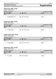 Internationales Arzler Wurfmeeting 2. Teil 18.06.2013 - Innsbrucker ...