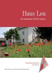 Haus Lea - Franziskanerinnen von Vöcklabruck