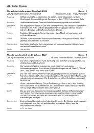 Jodel Gruppe Nachwuchs - ZSJV