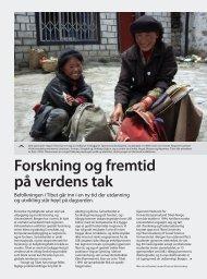 Forskning og fremtid på verdens tak - Universitetet i Bergen