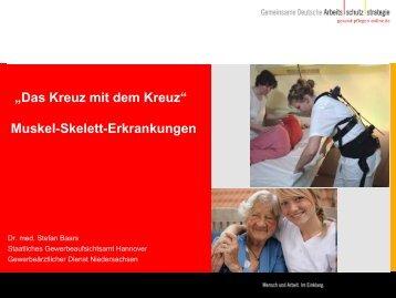 Muskel-Skelett-Erkrankungen - Niedersächsische Gewerbeaufsicht ...