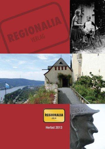 Herbst 2013 - Regionalia Verlag