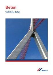 Beton - Cemex Deutschland AG