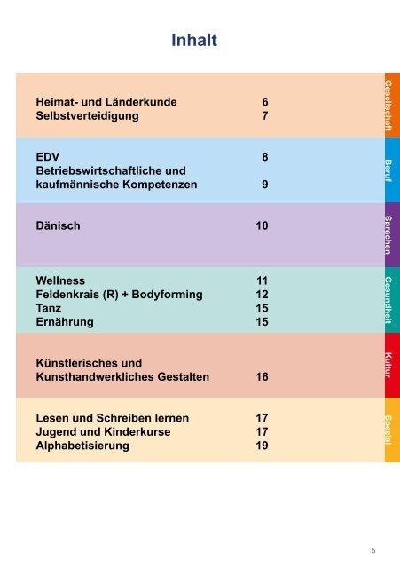 Wesselburen Programm Herbst 2013 - Volkshochschule Wesselburen