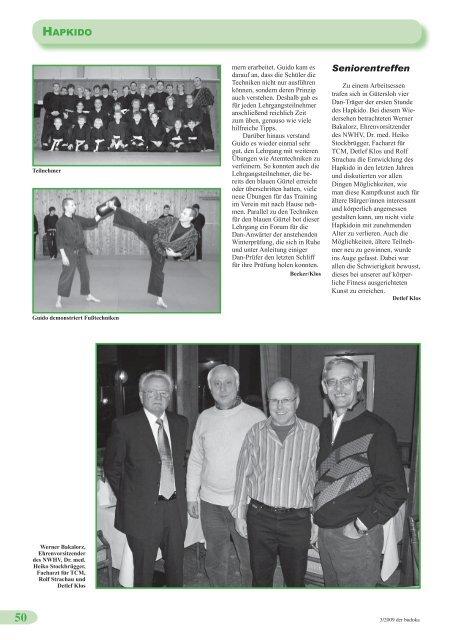 budoka 03 2009 - Dachverband für Budotechniken Nordrhein ...