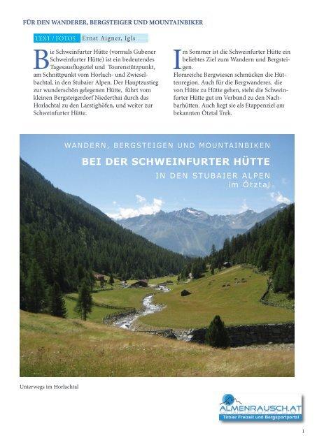 BEI DER SCHWEINFURTER HÜTTE - Almenrausch