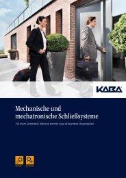 Mechanische und mechatronische Schließsysteme - H+W ...