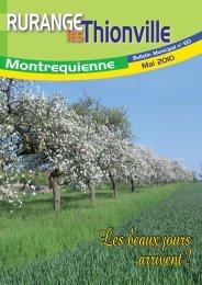 Mai 2010 - Commune de Rurange les Thionville et Montrequienne ...
