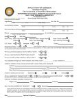 Application for Admission - The University of Southern Mississippi - Page 3