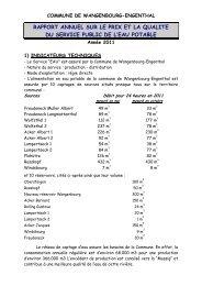 commune de wangenbourg-engenthal - Réseau des Communes