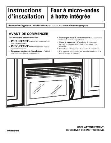 four micro ondes hotte int gr e. Black Bedroom Furniture Sets. Home Design Ideas
