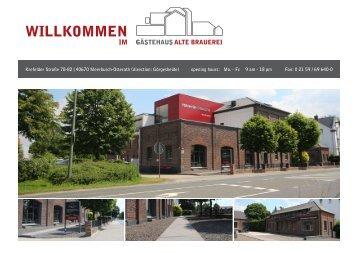 Download directions - Gästehaus Alte Brauerei