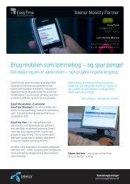 Brug mobilen som lommebog – og spar penge! - Telenor
