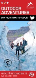 OUTDOOR ADVENTURES - Iceland Rovers