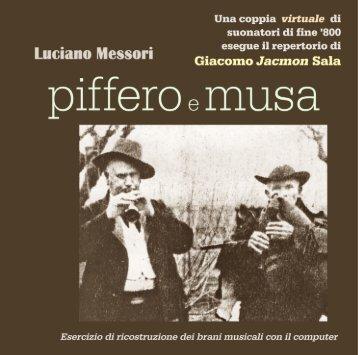 Piffero e Musa - Stefano Valla & Daniele Scurati