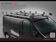 Aluminium - Rhino Products Ltd UK