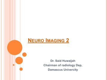 Neuro Imaging 2