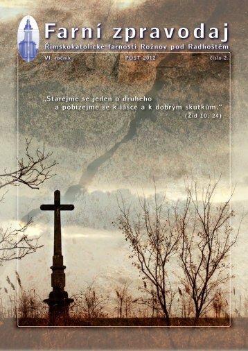2/2012 - Farnost Rožnov pod Radhoštěm