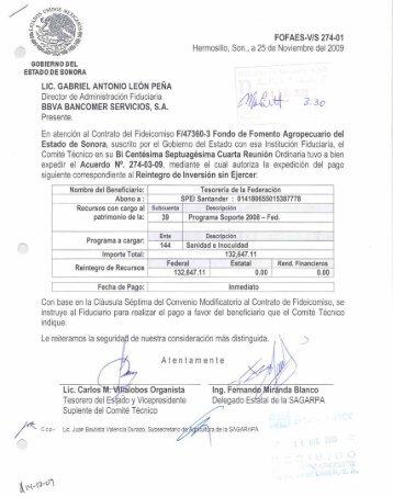 uc. GABRIEL nnron¡o LEÓN PEÑI\ - Gobierno del Estado de Sonora