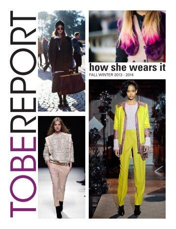 View Tobe Trend Report (PDF) - Jillian Ricciardi