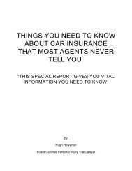things you need to know about car insurance that most agents never ...