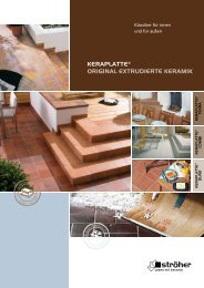 KERAPLATTE® ORIGINAL EXTRUDIERTE KERAMIK - Ströher