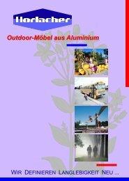 Formen und Farben - Outdoor-Möbel aus Aluminium