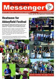 Burngreave Messenger August 2013 Issue 107
