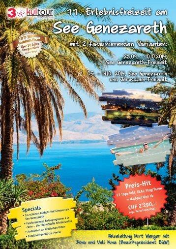 PDF See Genezareth Erlebnisfreizeit - KulTOUR Ferienreisen