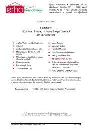 1 ZIMMER 1220 Wien Stadlau – Hans Steger Gasse 8 ZU ... - erho.at