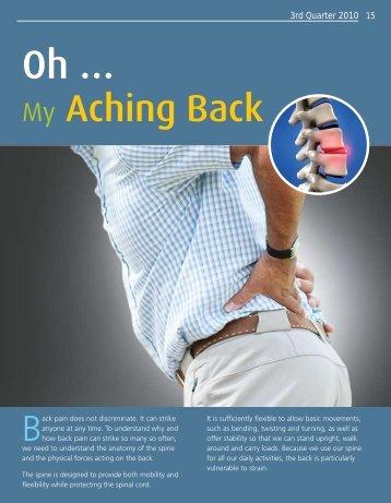 Oh... My Aching Back - Saudi Aramco
