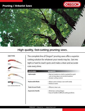 Pruning / Arborist Saws - Oregon