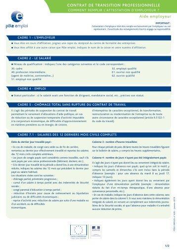 crp   comment remplir l u0026 39 attestation employeur