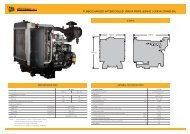 TURBOCHARGED AFTERCOOLED 109KVA - JCB Power Systems